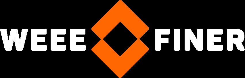 weeefiner logo negative version